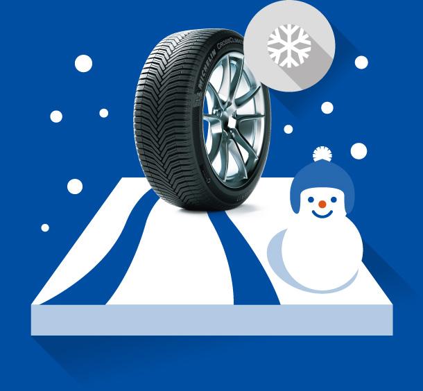 急な雪にも対応!冬でも、より安心ドライブ!
