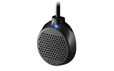 アンテナにLEDとスピーカーが内蔵されており、警告音なども聞き取りやすい