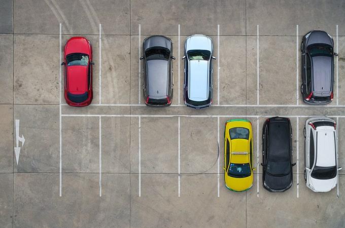 駐車場での防犯